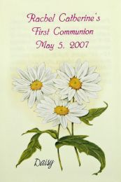Daisy Communion Seed Favor