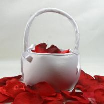 Plain Flower Girl Basket
