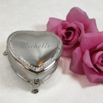 Heart Shaped Jewelry Box