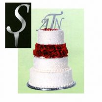 Initial Cake Toppers (Set of 3)