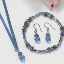Sultry Suede Jewelry Set