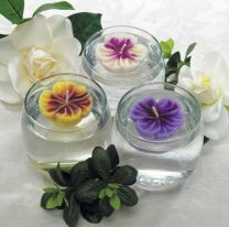 Violet Floating Candles
