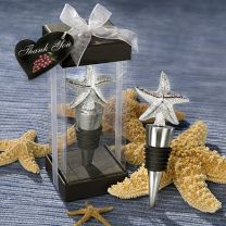 Elegant Starfish Bottle Stopper Favor