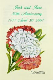 Carnation Anniversary Seed Favor