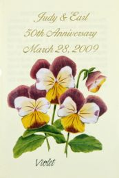 Violet Anniversary Seed Favor
