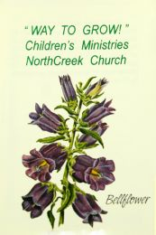 Bell Flower Church Seed Favor