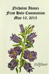 Bell Flower Communion Seed Packet Favor