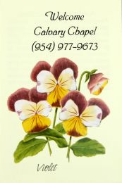 Violet Church Seed Packet