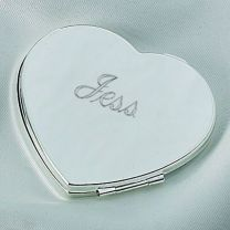 Engraveable Heart Compact