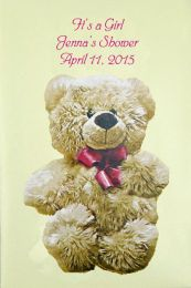 Girl Bear Baby Shower Favor