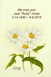 Daisy Memorial Flower Seed Packet