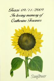 Sunflower Memorial Seed Packet