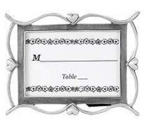 Pewter Place Card Frames