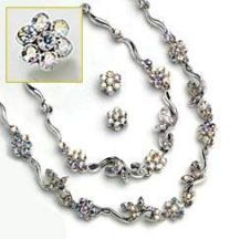 Sparkling Romance Bridal Jewelry Set