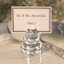Wedding Cake Place Card Holder